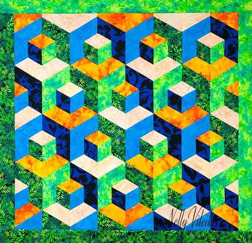 Tumbling Blocks - The Easy One